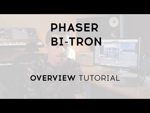 Tutorials - Phaser BI-TRON | ARTURIA