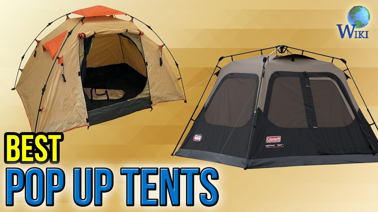 10 Best Pop Up Tents 2017 & 10 Best Pop Up Tents 2017 - YouTube
