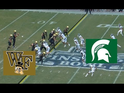 Wake Forest Vs Michigan State Football Bowl Game 12 27 2019