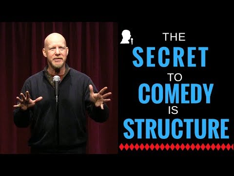 Jerry Corley Talks Comedy Structure