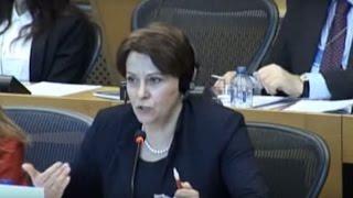 Виступ Ніни Южаніної у Європарламенті