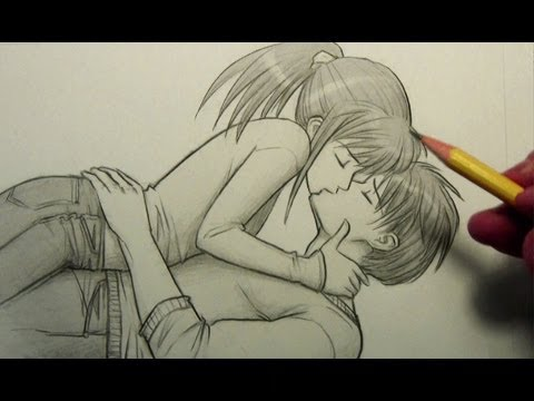 How to Draw People Kissing [Pose]