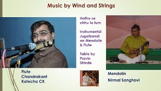 Hotho Se Chhu Lo Tum Film Prem Geet Instrumental Music On Mandolin Flute CK
