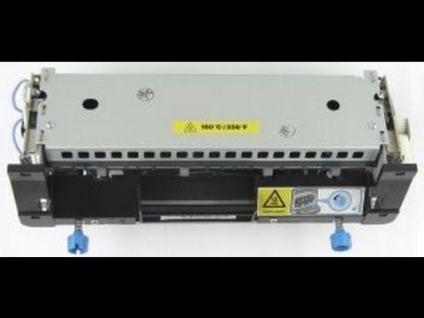 Lexmark ms810 / mx710 / mx810 fuser unit replacement. 40X8420 40X7743
