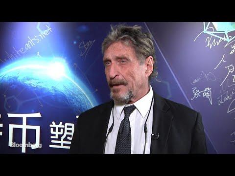 McAfee Says China ICO Ban Won't Halt Cryptocurrencies