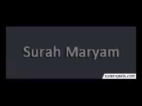 Surah Maryam Merdu