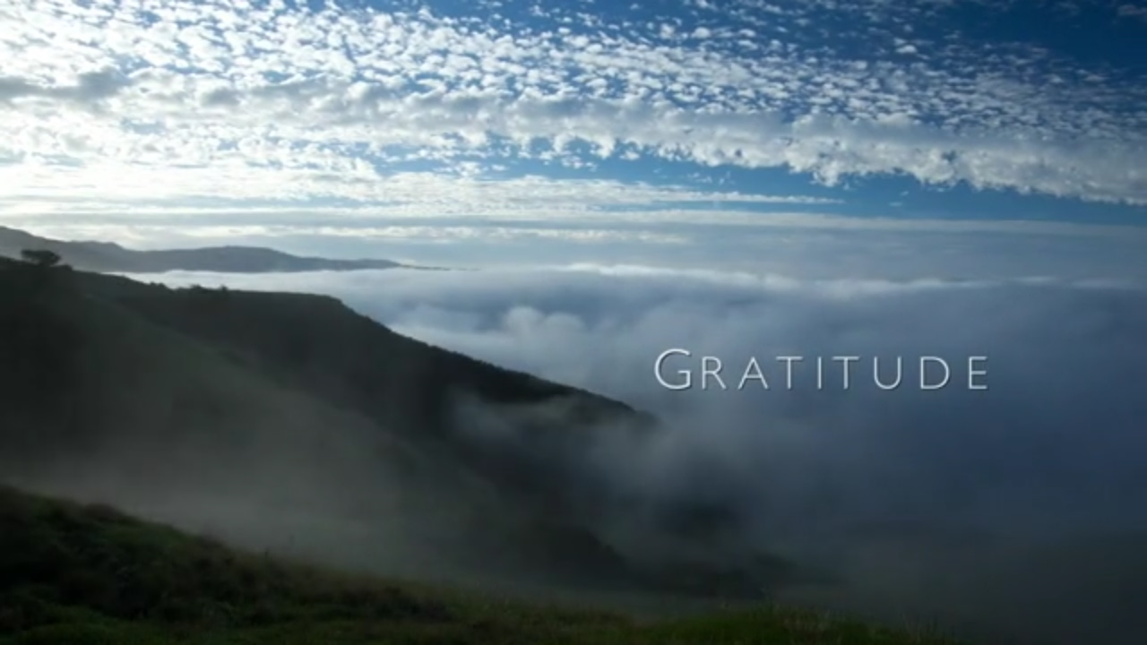 Gratitude: The Short Film by Louie Schwartzberg