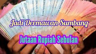 Jadi Dermawan Sumbang Jutaan Rupiah Setiap Bulan untuk Kemajuan Indonesian. Gampang Gini Caranya...
