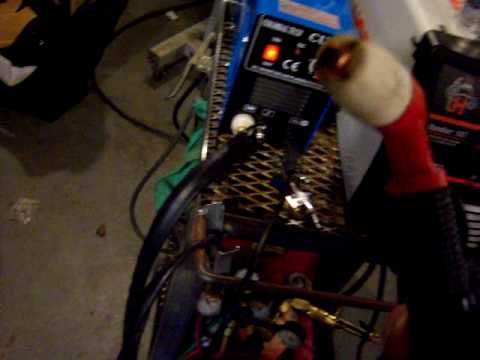Colossal Tech Cut 50 Plasma Cutter part 1 of 5 - YouTube