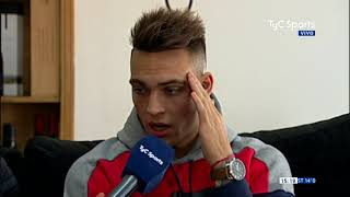 Lautaro Martínez en #TyCSportsMundial