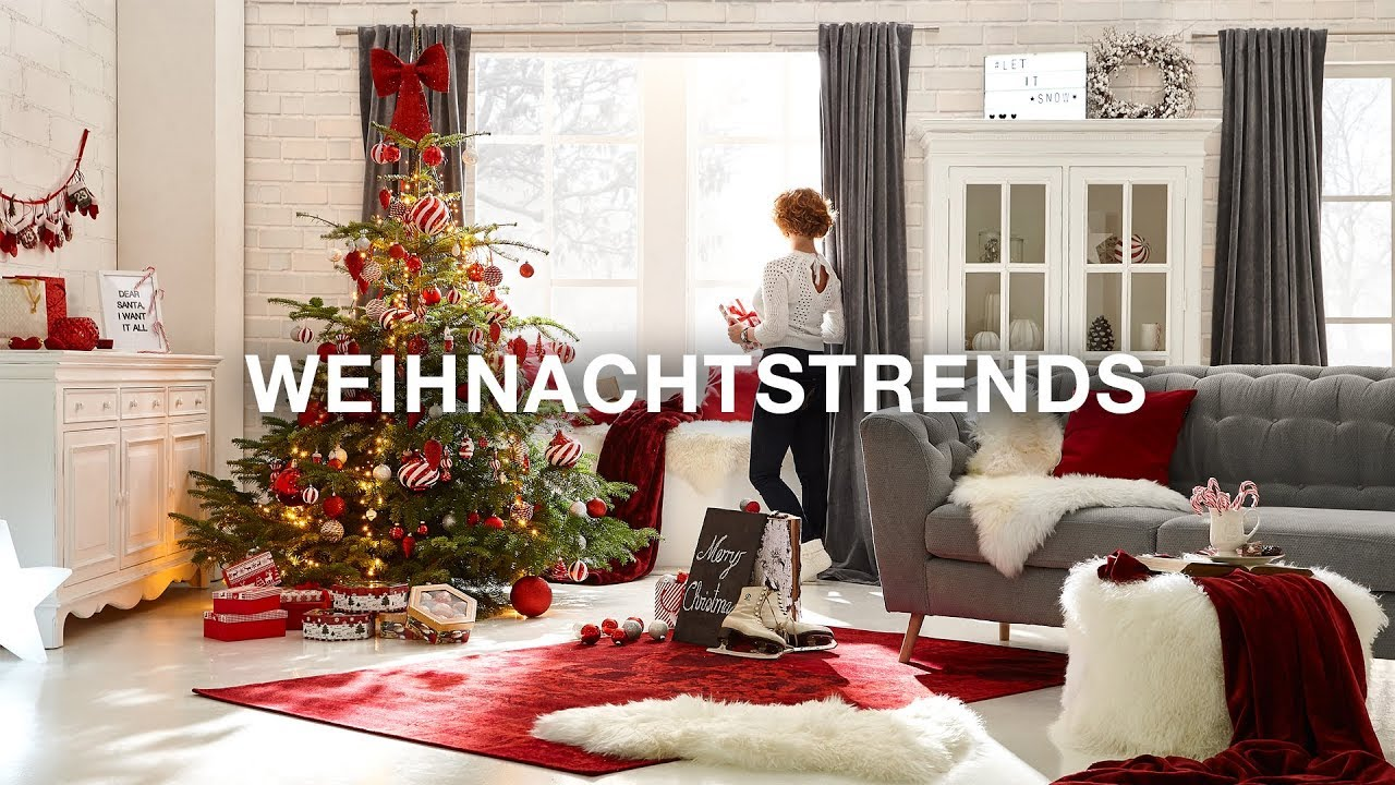 weihnachtsdeko xxxlutz weihnachtstrends 2017 youtube. Black Bedroom Furniture Sets. Home Design Ideas