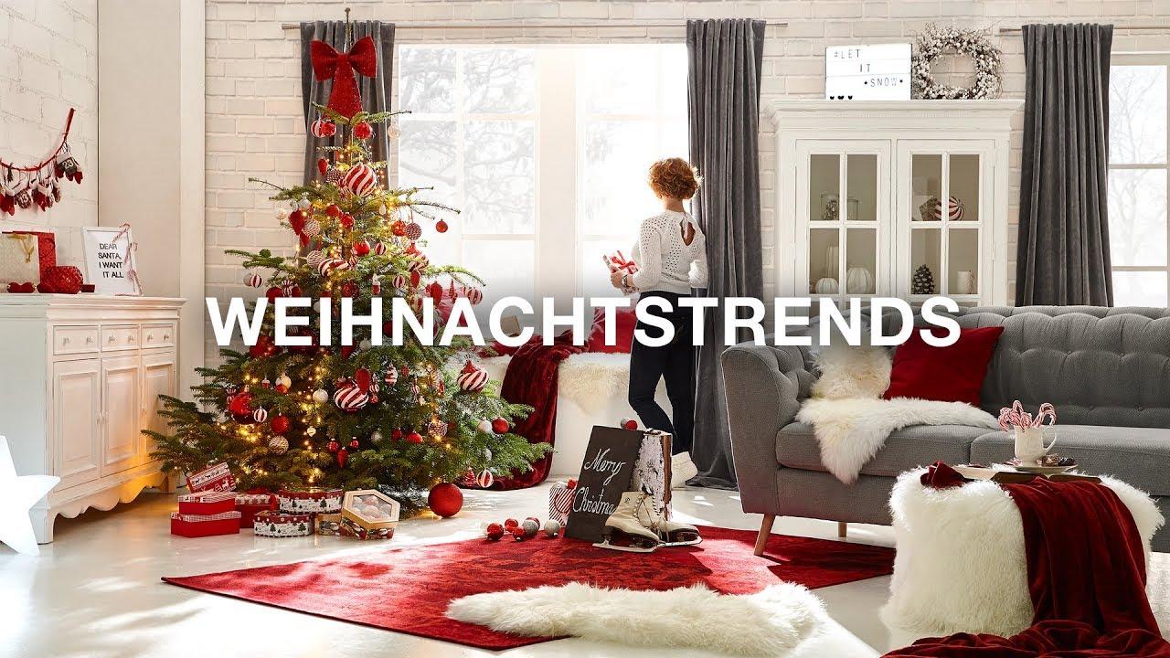 Weihnachtsdeko xxxlutz weihnachtstrends 2017 youtube - Weihnachtsdeko modern ...