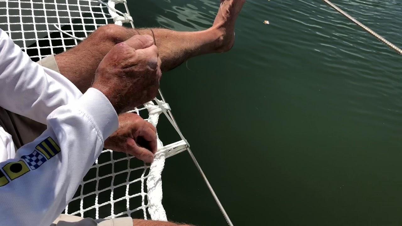 Multihull Nets | Catamaran Nets | Trampolines | ATN Sailing
