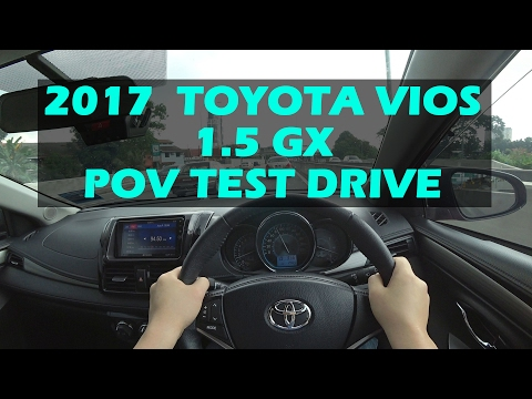 2017 Malaysia Toyota Vios 1.5GX POV Test Drive #toyotavios2017 #toyotaviosmalaysia