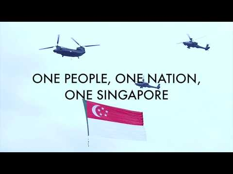 One People One Nation One Singapore by Edgefield Primary School