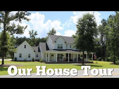 🏡 WHOLE HOUSE TOUR 2018 // FARMHOUSE TOUR // HOME TOUR