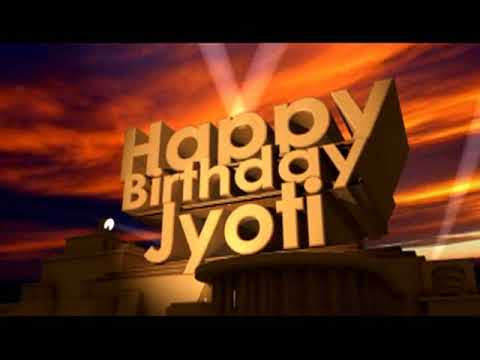 happy birthday jyoti