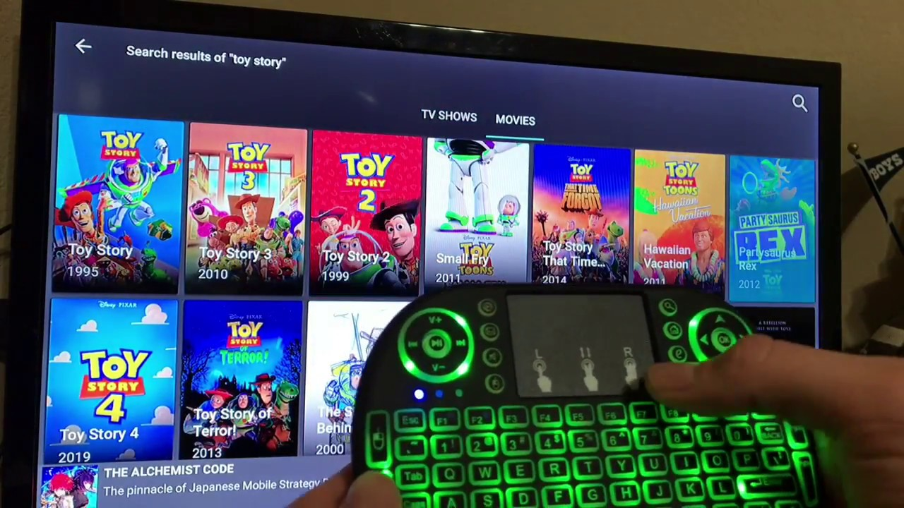 b7d07c8a32a Wireless keyboard for Amazon Firestick and Firetv (no bluetooth pairing  needed!)
