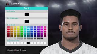 PES 2018 CYLE LARIN FACE BUILD (CYLE LARIN OLUŞTURMA)