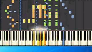 Spiller - Groovejet (mh) [Piano Tutorial Synthesia]