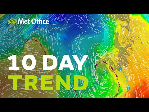 10 Day Trend - Colder And Wetter But For How Long? 23/09/20