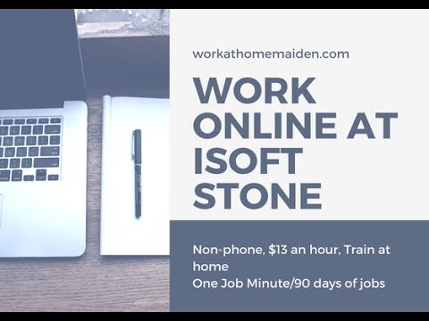 One Job Minute: Work Online as a Search Evaluator with iSoft Stone