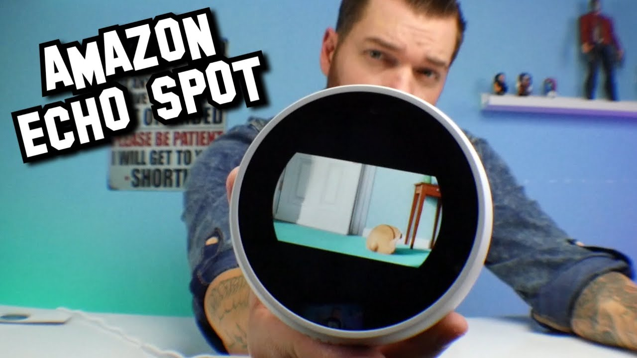 Amazon Echo Spot Descuentos
