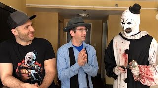 "Art the Clown, himself, talks ""Terrifier 2"""