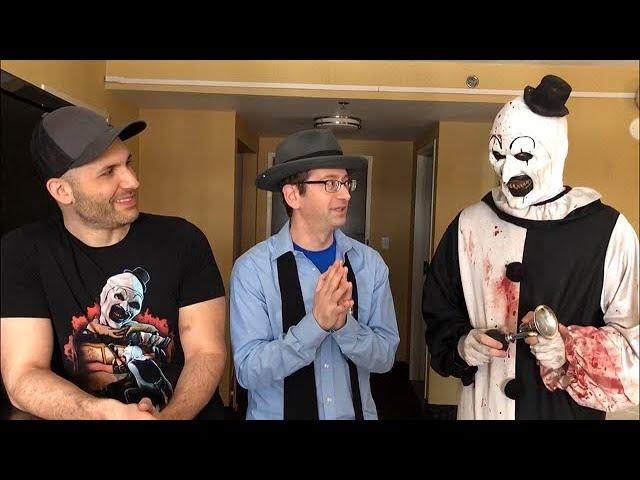 Art The Clown Himself Talks Terrifier 2 Youtube