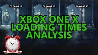 Xbox One X - Loading Times Analysis (S vs X, Enhanced Games, Back Compat, External HDD)