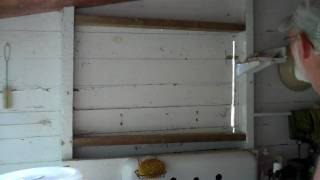 Adding A Window To The Back Porch At The Cottage - How To...