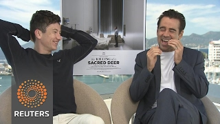 'Sacred Deer' reunites Colin Farrell with 'messed up' 'Lobster' director