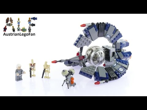 Lego Star Wars 75044 Droid Tri-Fighter - Lego Speed Build Review