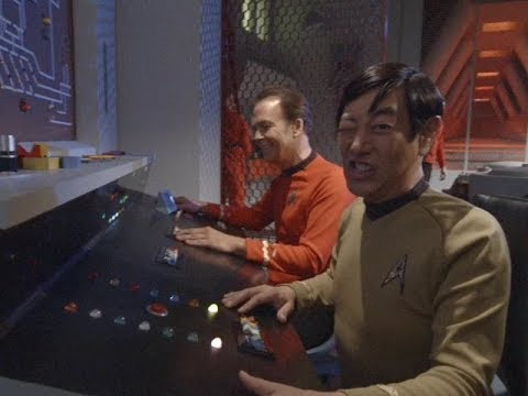 """""""To Boldly Go: Part I"""" behind-the-scenes bloopers"""