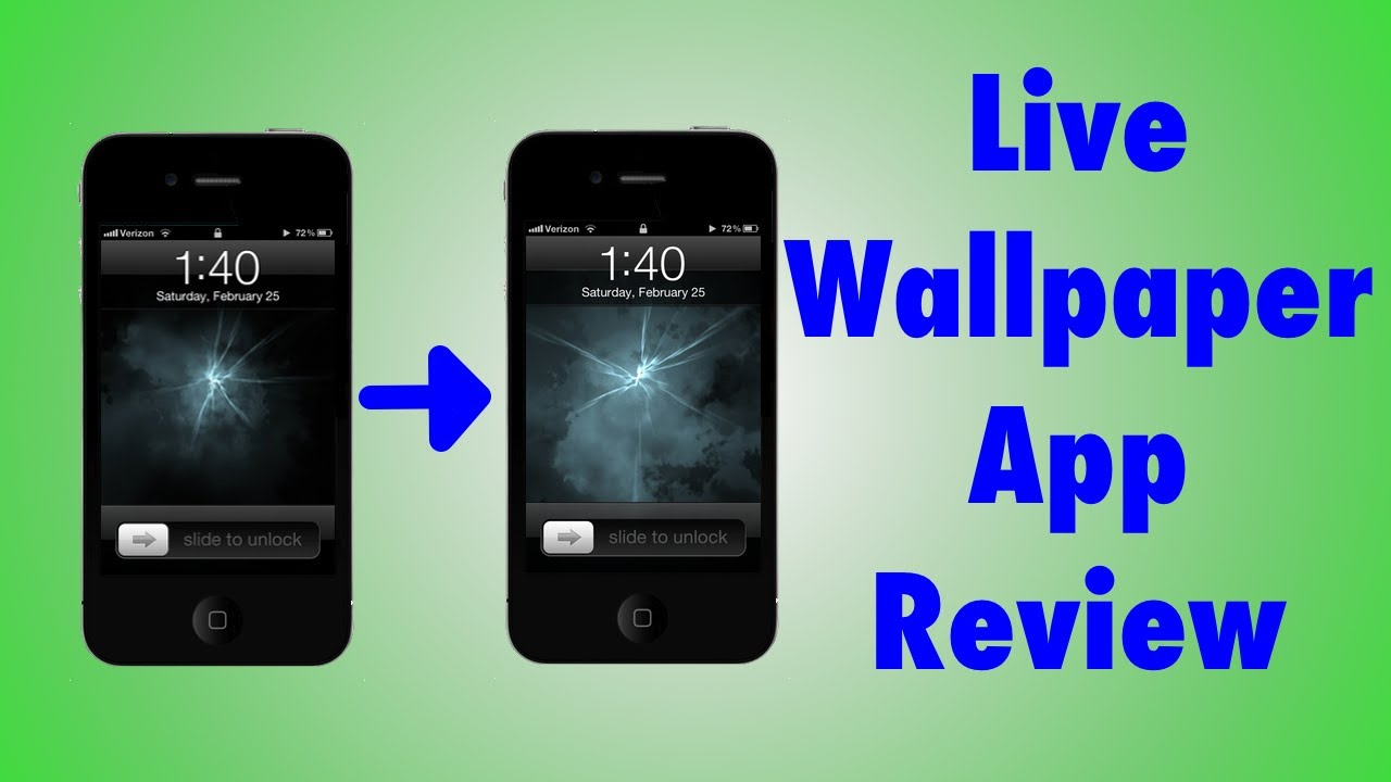Moving iPhone Wallpaper - NOT JAILBROKEN! - YouTube
