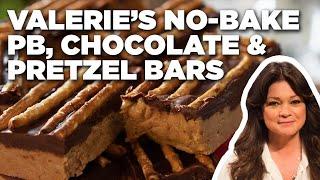 Valerie Bertinelli's No-Bake PB, Chocolate & Pretzel Bars   Valerie's Home Cooking