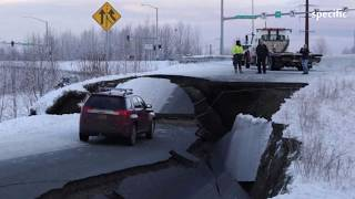 Australia news today |  Earthquakes in Alaska buckle roads and trigger tsunami warning