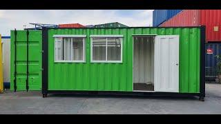 @ตู้คอนเทนเนอร์ #ตู้คอนเทนเนอร์พร้อมห้องน้ำภายใน #ตู้คอนเทนเนอร์บ้าน