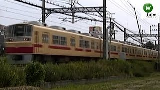 西鉄2000形(2021)急行 紫~二日市 2010年秋 Nishitetsu Tenjin Omuta Line