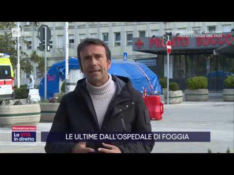 Le ultime dall'Italia zona protetta - La vita in diretta 16/03/2020