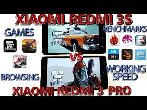 Xiaomi Redmi 3s || vs || Xiaomi Redmi 3 Pro | СКОРОСТЬ РАБОТЫ (Games, Benchmarks, Browsing)