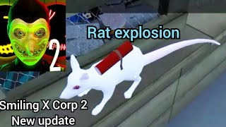 Smiling X Corp 2 1.5 new update. Rat explosion and ending