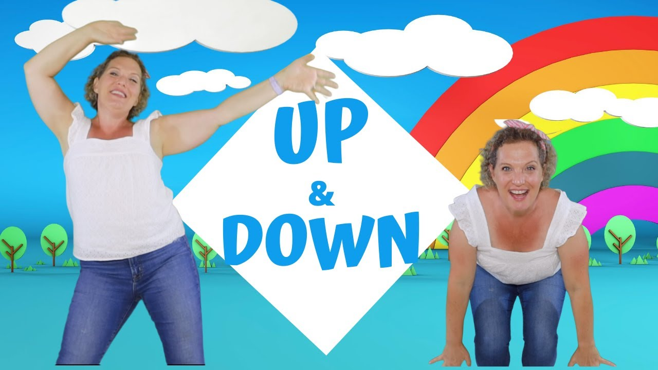 Preschool Music Movement Up And Down Hip Hop Action Song For Kids Youtube