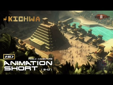"CGI 3D Animated Short Film ""KICHWA"" Adventurous Animation by ESMA"