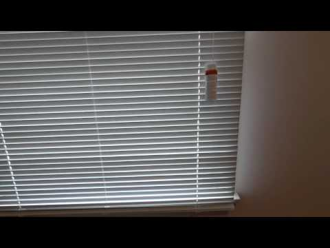 "Product REVIEW How to Install Home Depot Bali 1"" Aluminum Mini Blinds and shorten them"