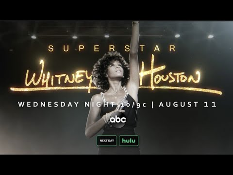 'Superstar' Primetime Series Whitney Houston   Premieres Weds, August 11 2021 at 10 9c on ABC