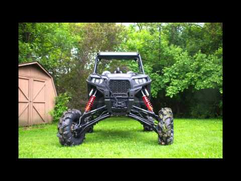 Super ATV RZR 900 10' Lift Kit Test