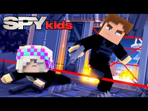 Minecraft SPY KIDS #2 - DONNY & LEAH SECRET AGENT SPY TRAINING FOR MISSION ONE!!