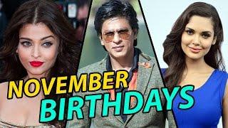 Bollywood Celebrities Birthday   NOVEMBER