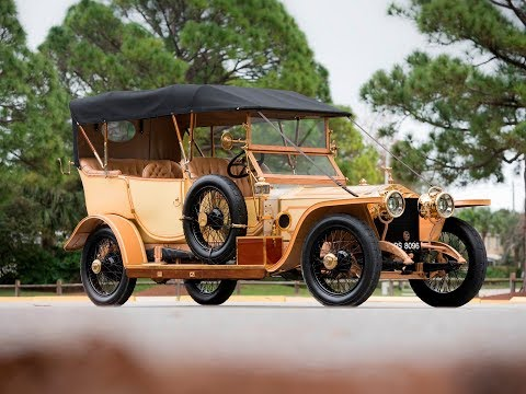 1912 Rolls Royce 40/50 HP Silver Ghost Roi des Belges in the style of Barker